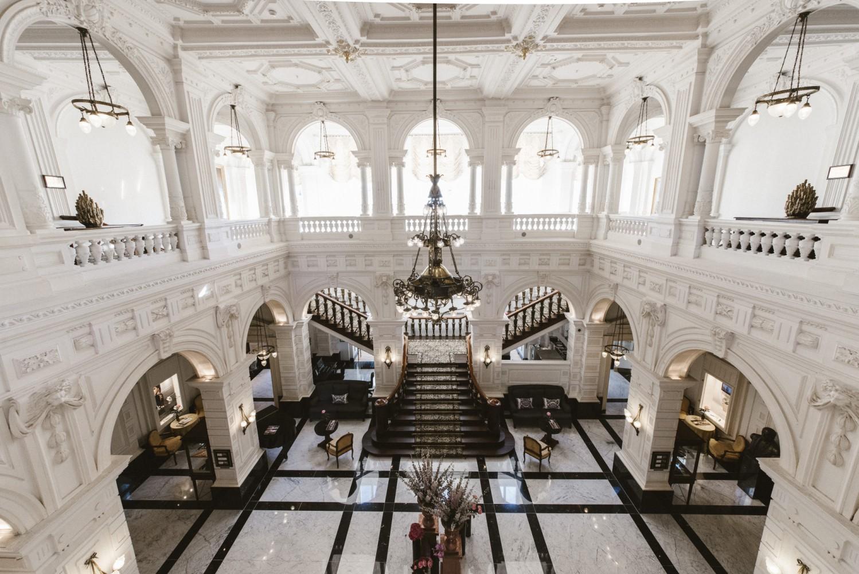 Amstel Hotel Lobby