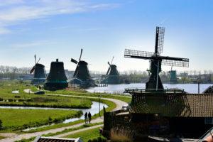 Zaans Schans Windmills