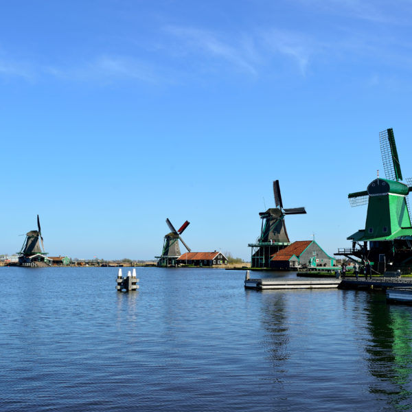 Zaans Schans Lake