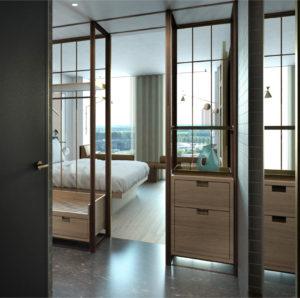 QO Hotel Bedroom