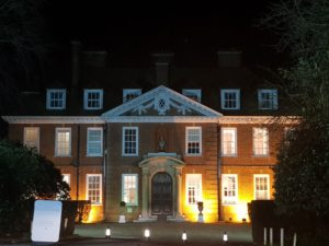 Hunton Park Hotel Front At Night