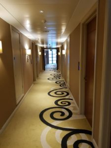 The Clayton Hotel - Hallway