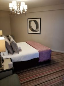 The Clayton Hotel - Bedroom