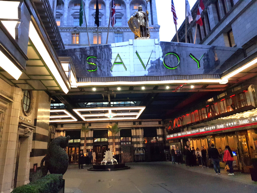 The Savoy - Entrance