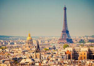 Paris Skyline - Day